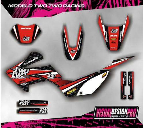 calcos - grafica kit completo honda tornado - envio gratis!!