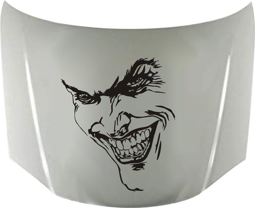 calcos joker why so serious 01 para capot + regalo !! graficastuning 00089