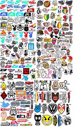 calcos stickers troqueladas autos motos skate todo plotter