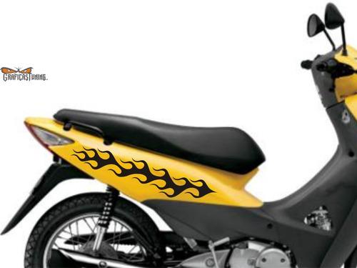 calcos tuning laterales motos 29 x dos - graficastuning