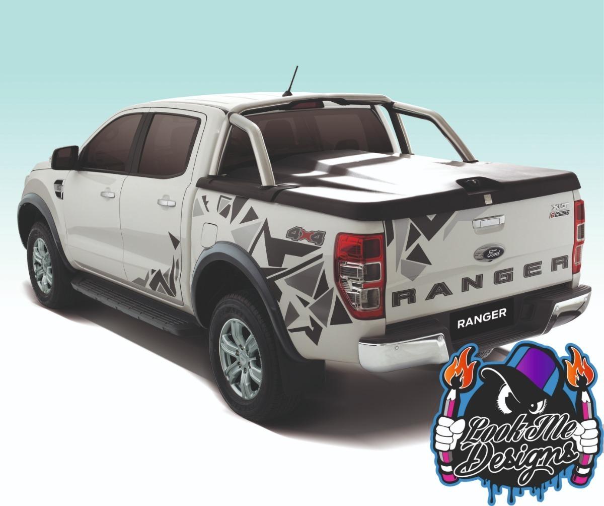 Lookme Design Calcos Vinilo Plotter Camionetas 4x4 Kit Completo 5 900 00