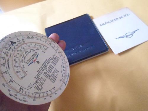 calculador de vôo esso antigo  raridade coleção bom estado