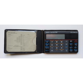Calculadora / Agenda De Bolsillo. Vintage, Decada Del '90