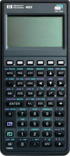 calculadora 48gx  graficadora en la cava del libro