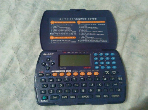 calculadora agenda. marca sharp