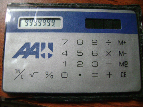 calculadora antigua casio mc-34 metric mini-card