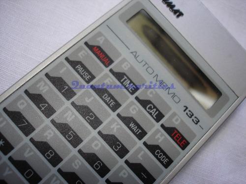 calculadora auto memo 133 grymat quebrada restauro antiga
