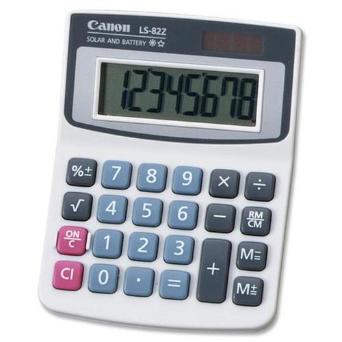 calculadora básica 8 dígitos canoncan-cal-ls-82z