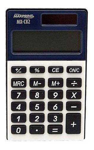 calculadora bolso 8 digitos  (mx-c82) / un / maxprint