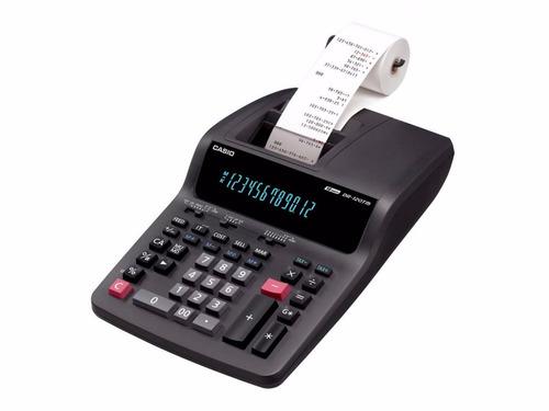 calculadora c/ bobina casio hr-100tm - pronta entrega