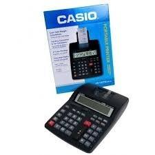 calculadora c/ bobina casio hr-150rc 12 dig. envio imediato