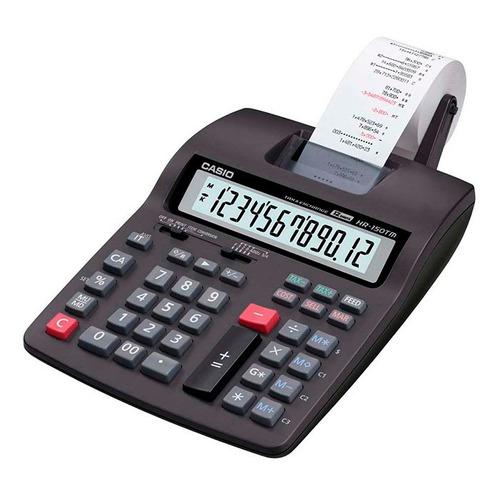 calculadora c/ bobina casio hr-150tm 12 dig. envio imediato