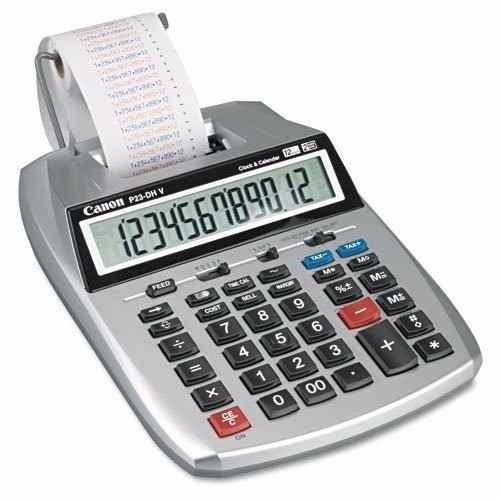 calculadora canon 12 digitos p23-dh v tienda