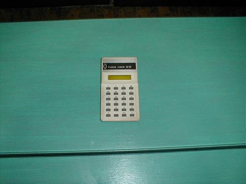 calculadora canon card l c - 20