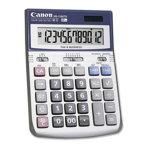 calculadora canon hs-1200 tscan-cal-hs1200t upc: 0138031415