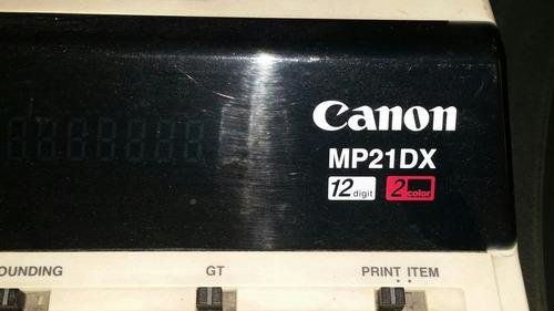 calculadora canon mp21dx