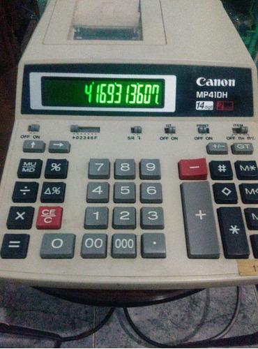 calculadora canon  mp41dh