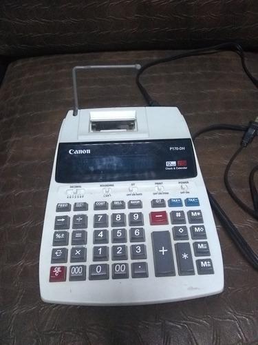 calculadora canon p170dh