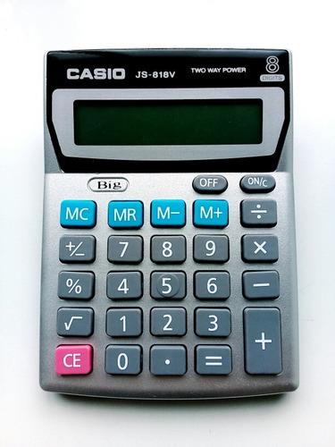 calculadora casio 818 js-818v de bodega
