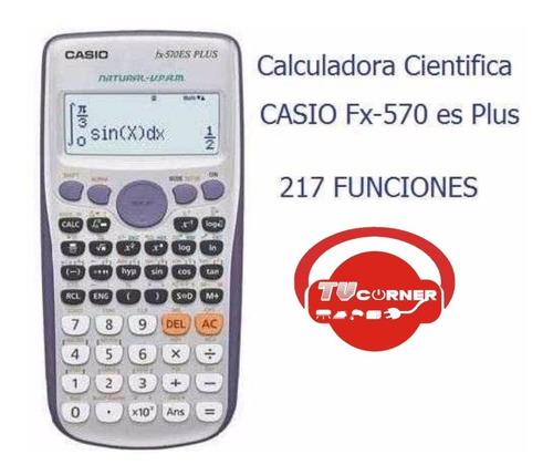 calculadora casio cientifica fx-570es plus