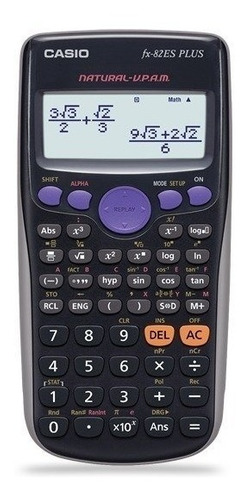 calculadora casio cietifica fx82 la plus - aj hogar