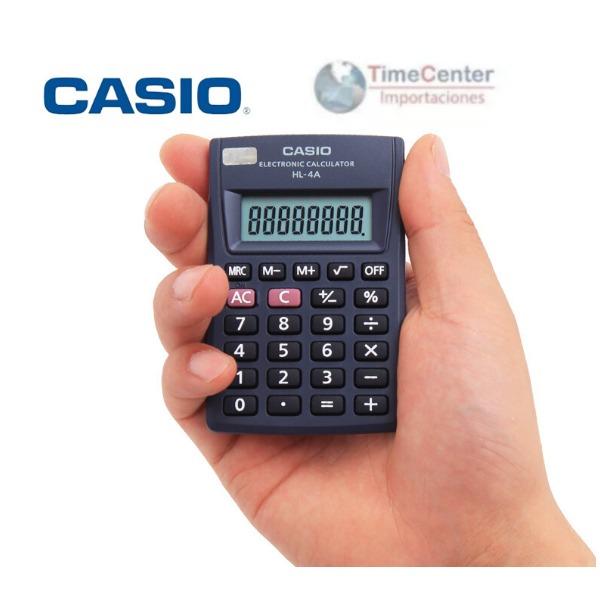 9250e733211d Calculadora Casio De Bolsillo Hl-4a - U S 2