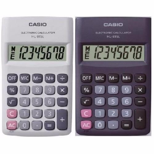 edcfb92d884f Calculadora Casio De Bolsillo Hl-815l 8 Dig (202291) -   320