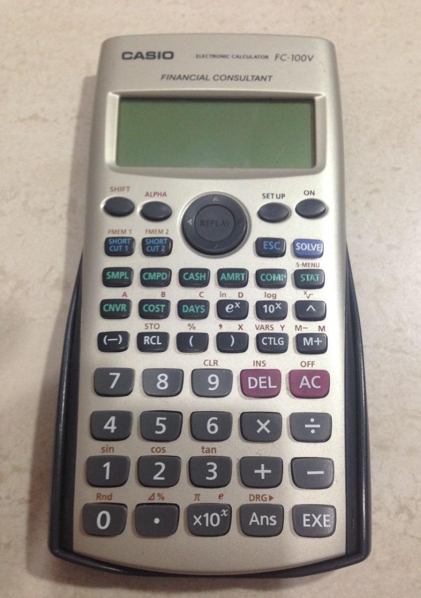 cc3c3620a156 calculadora casio fc-100v. Carregando zoom.