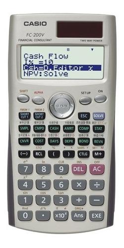 calculadora casio fc 200v consultora financiera dit oficial