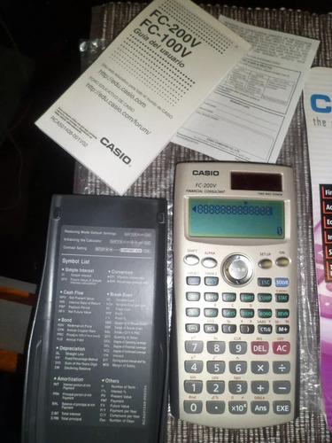 calculadora casio financiera fc200v