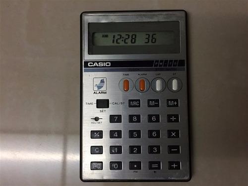 calculadora casio fx 7100 y pw 70 coleccionistas