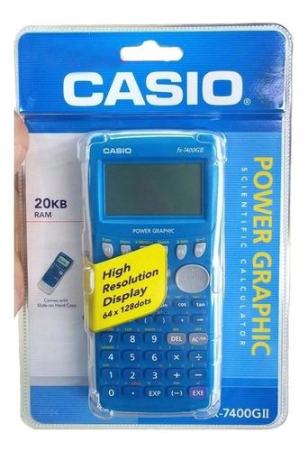 calculadora casio fx-7400gii sd graficadora - ditrib oficial
