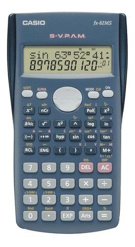 calculadora casio fx 82 ms es cientifica distribuid oficial