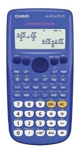 calculadora casio fx 82la plus comercio oficial autorizado