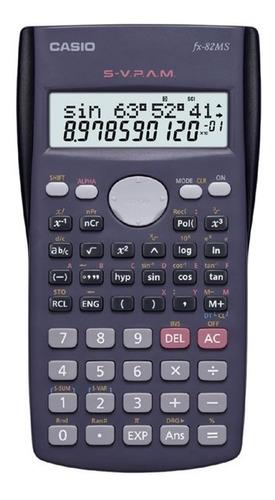calculadora casio fx 82ms comercio oficial autorizado
