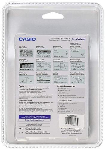 calculadora casio fx-9860gii cientifica grafica sellada