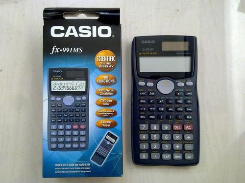 calculadora casio fx 991es cientifica solar - dist oficial