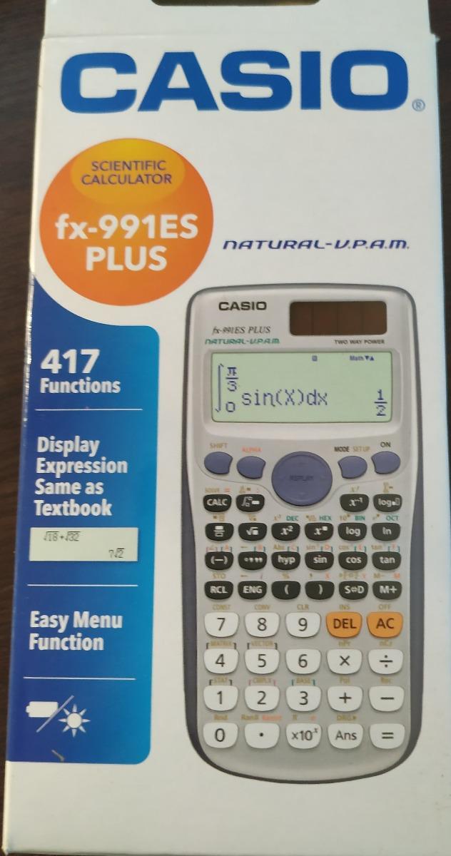 d32d88fdbaf Calculadora Casio Fx-991es Plus - R  95