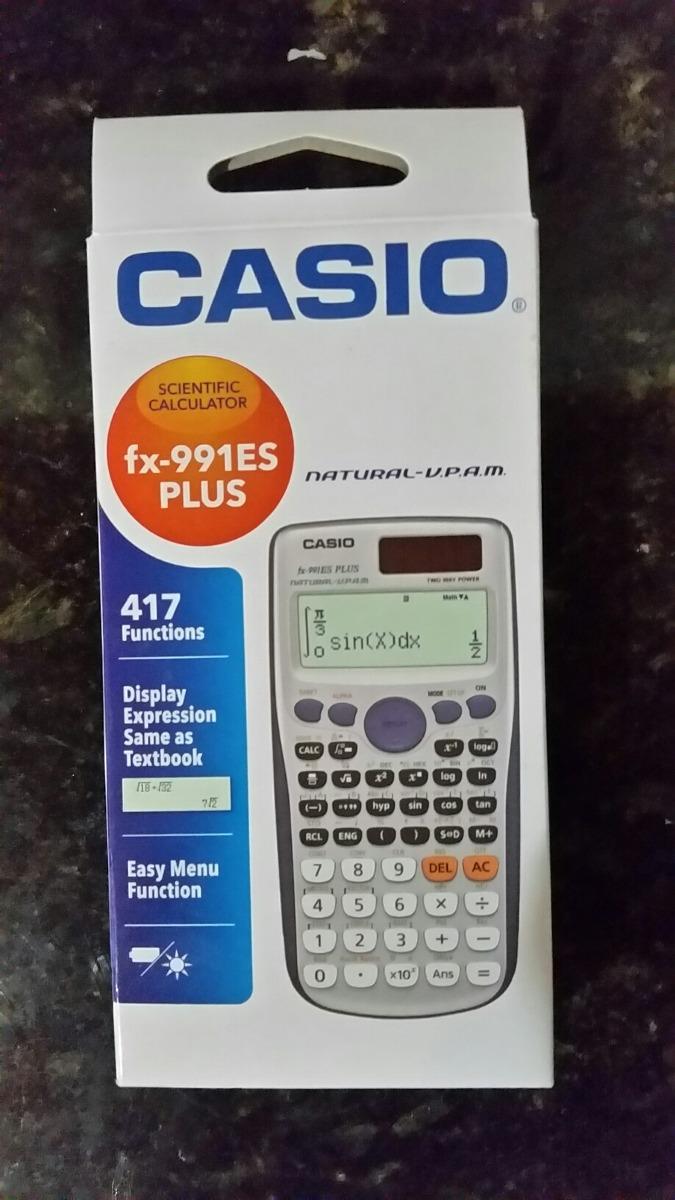 82b79ab92db Calculadora Casio Fx-991es Plus Com 417 Funções Original - R  87