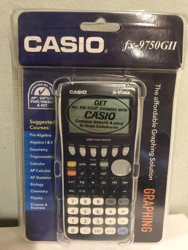 calculadora casio fx9750 gll grafica