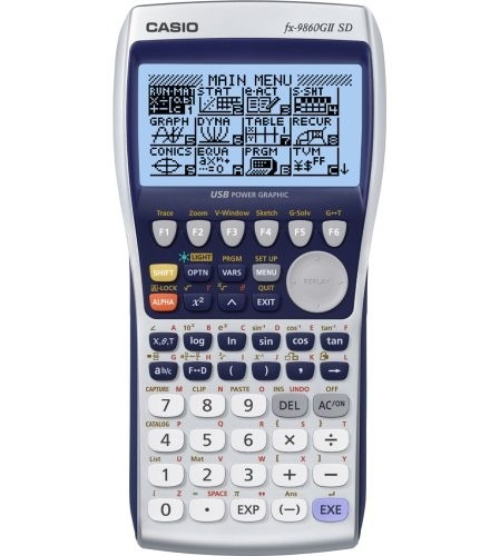 calculadora casio fx9860 gii sd graficadora cientifica nueva