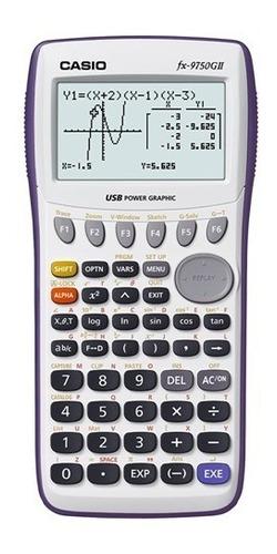 calculadora casio grafica cientifica fx9750 gii
