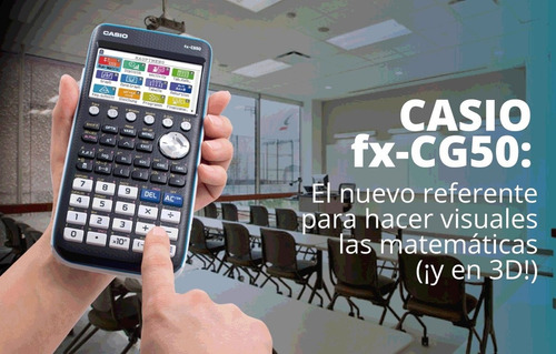 calculadora casio grafica fx-cg50 mejor fx9860 bachillerato