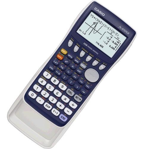 calculadora casio grafica fx9750 gii cientifica bachillerato