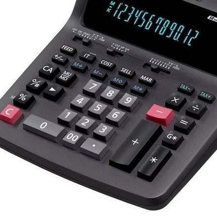 calculadora casio hr 120tm uso intensivo ditribuidor oficial