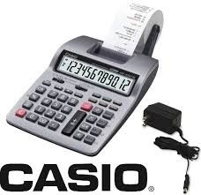 calculadora casio hr-150tm plus impresora con transformador