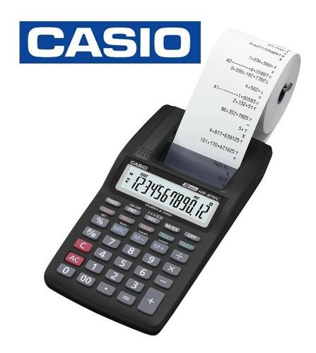 calculadora casio hr8 impresora con cálculo de impuestos