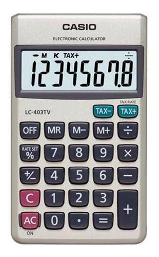 calculadora casio lc-403tv portatil