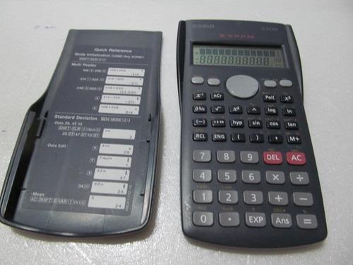 calculadora casio  s . v . p . a . m    fx-82 ms  arte som