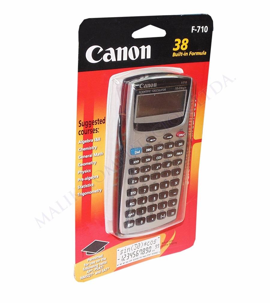 calculadora cientifica canon f 710 139 funciones nueva 9 990 en rh articulo mercadolibre cl